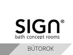 Sign fürdőszoba bútorok