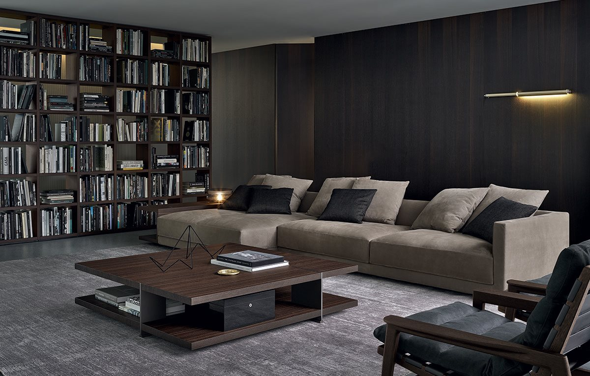 Baltex home poliform furniture for Interior design moderno