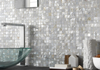 Special pearlescent pearl mosaic