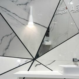 Re-design with LEA Slimtech ultra thick tiles