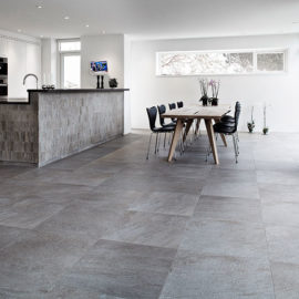 In harmony with nature – stone look tiles