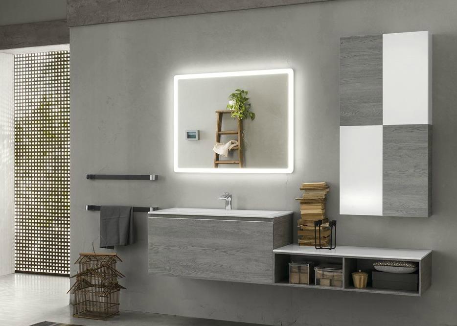 Fürdőszobai tükör beépített világítással