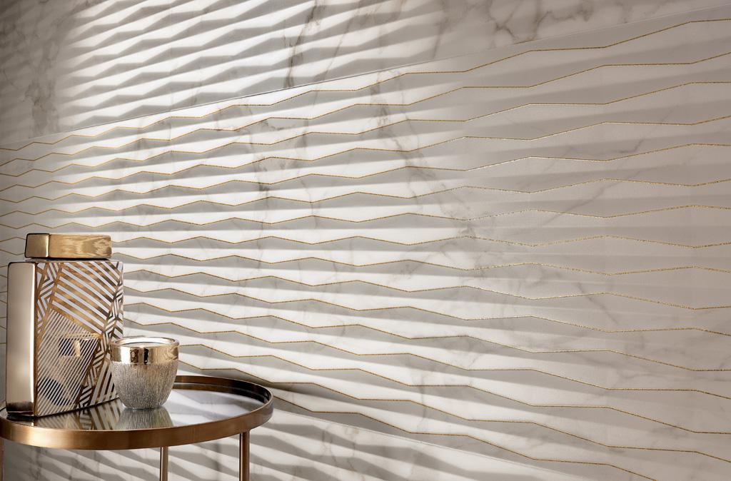 Roma Fold Glitter Calacatta 50x110cm