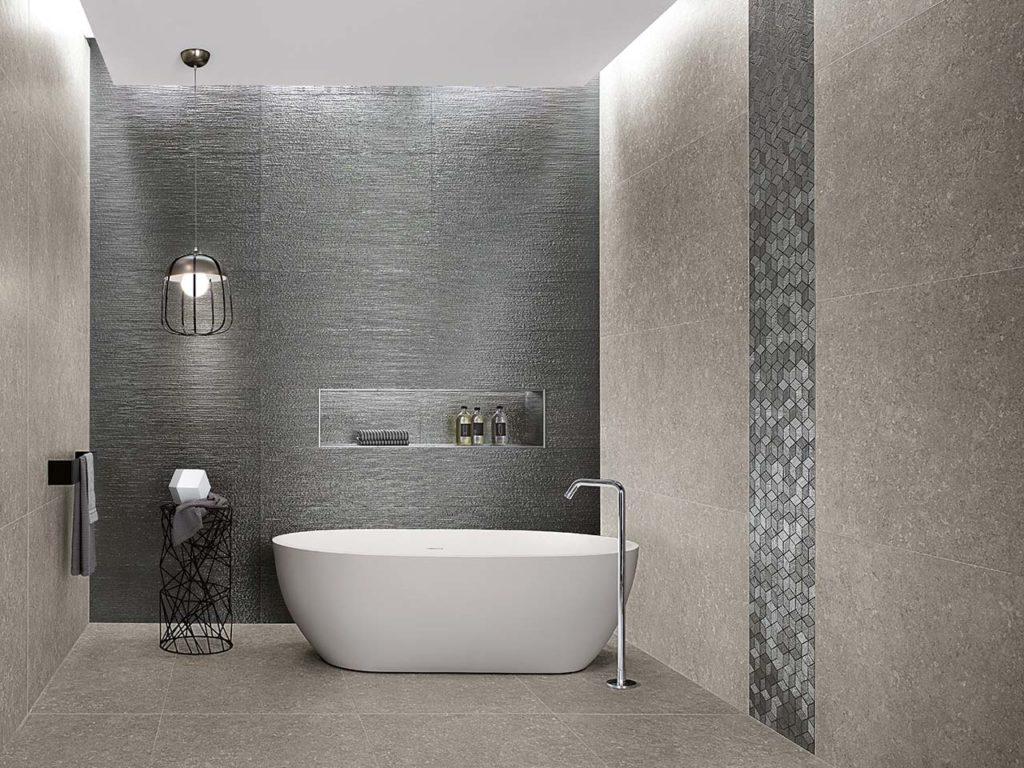 FAP Lumina Glam Lace Silver és Silver Cube Mosaico dekor elemekkel