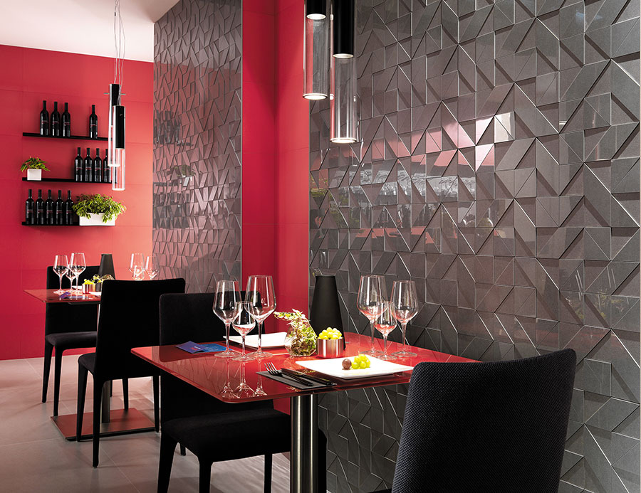 ARKSHADE Grey Mosaico 3D falburkolat