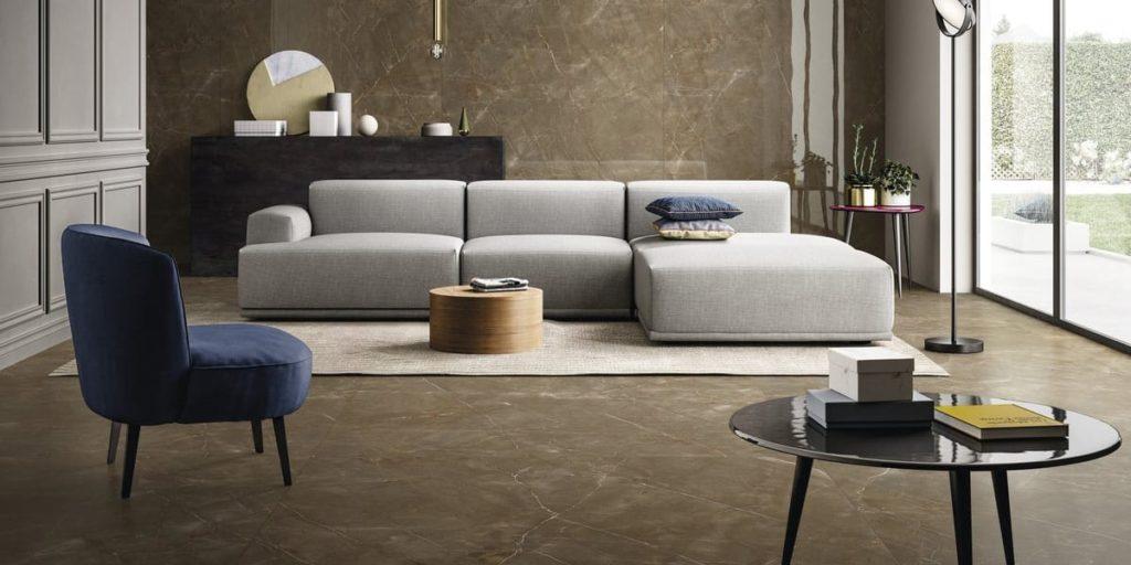 Glam Bronze fal- és padlóburkolat