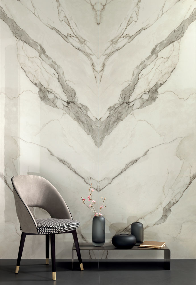 Marble Calacatta Butterfly