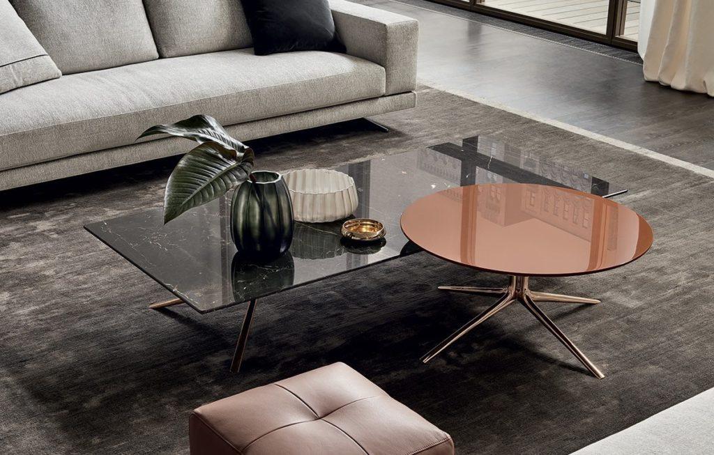 Mondrian kávézóasztalok