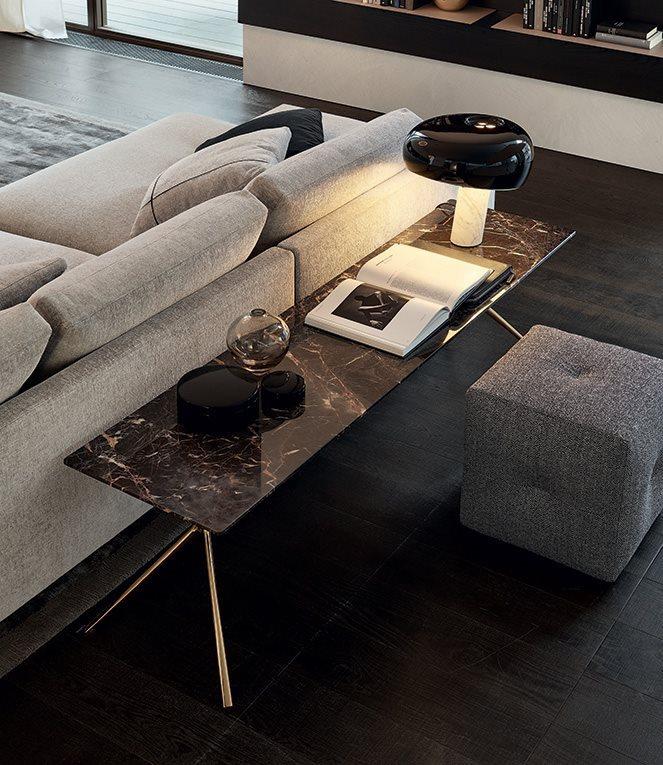 Mondrian márvány lerakóasztal