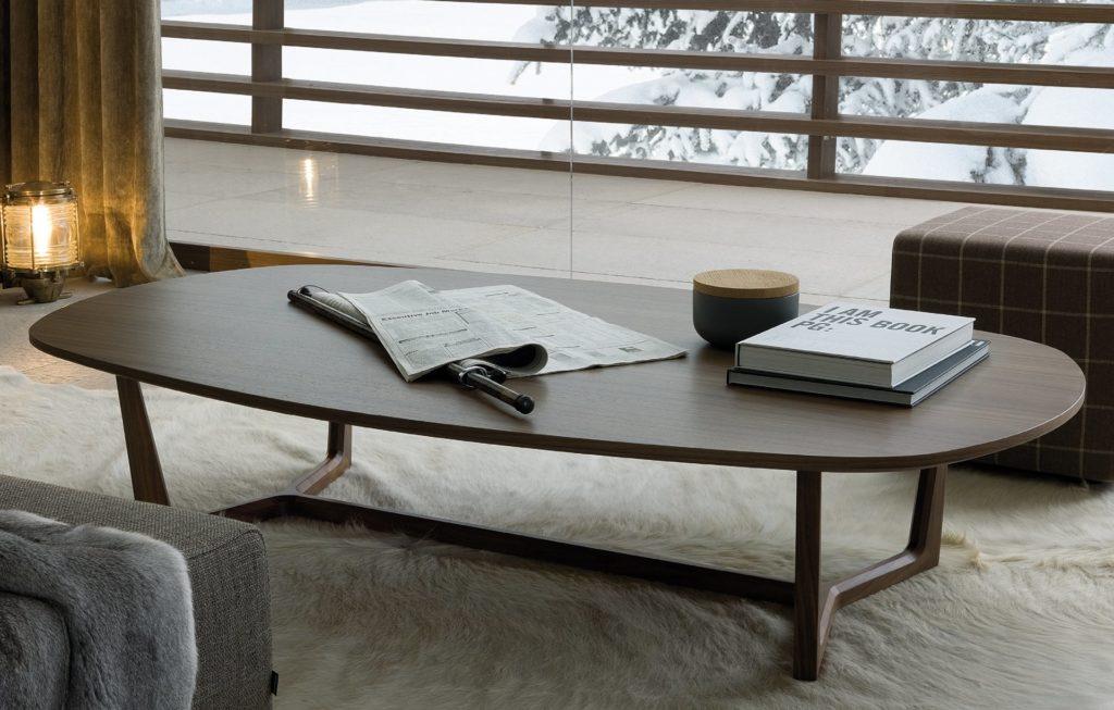 Tridente fa kávézóasztal