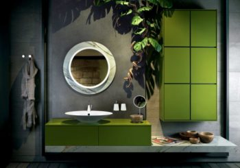 GREEN IN THE BATHROOM