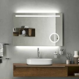 Funkció és design   Fürdőszobai tükör beépített világítással