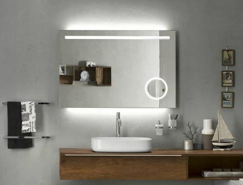 Funkció és design | Fürdőszobai tükör beépített világítással